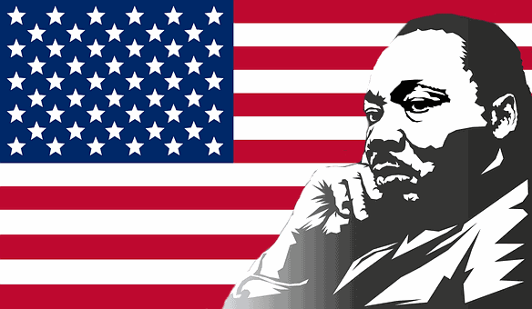 The Civil-Rights hero, Martin Luther King Jr.