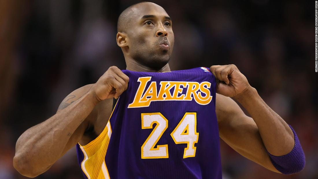 Legend Kobe Bryant Passed Away At The Age Of 41
