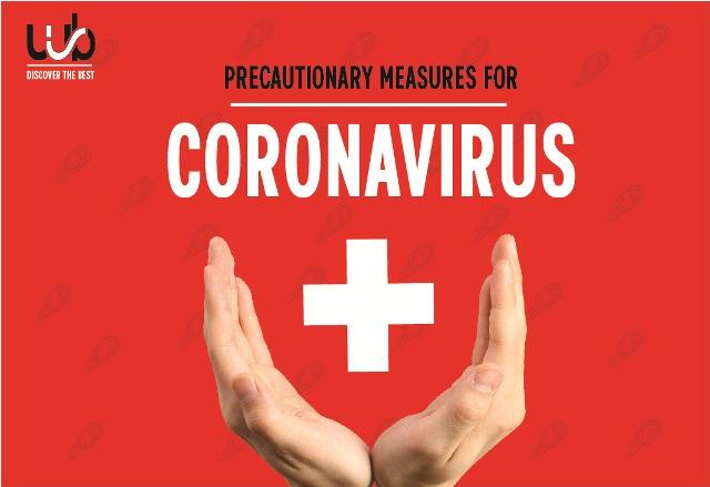 Precautionary Measures For Corona Virus